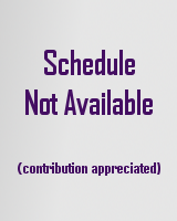 Schedule of events is not available.