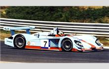 7 - Audi R8 #403 (Dallara) - Johansson Racing/Gulf Oil